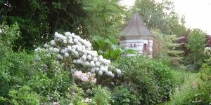 """The """"Jardin des Lianes"""" on the television program """"le jardin préféré des français"""" France 2"""