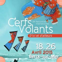 Rencontres Internationales de Cerfs Volants Berck sur mer 18-26 avril 2015 2015
